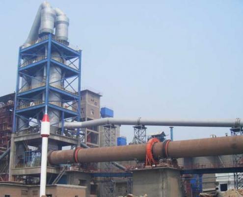 Cement rotary kiln
