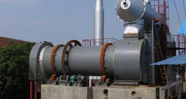 Waste-rotary-kiln