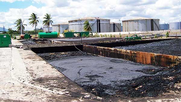 Oil sludge