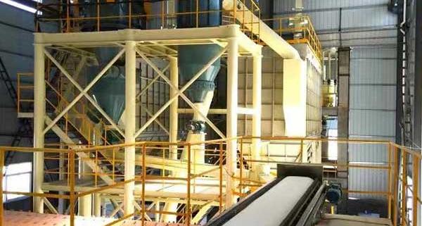 Micro powder production line