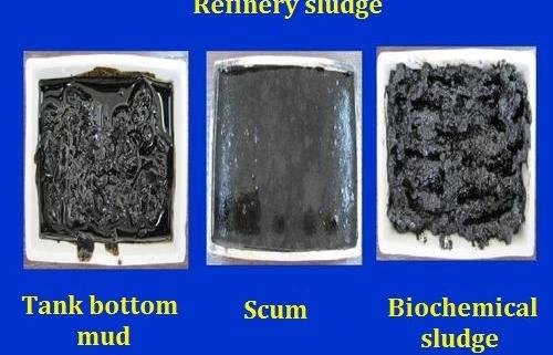 refinery sludge